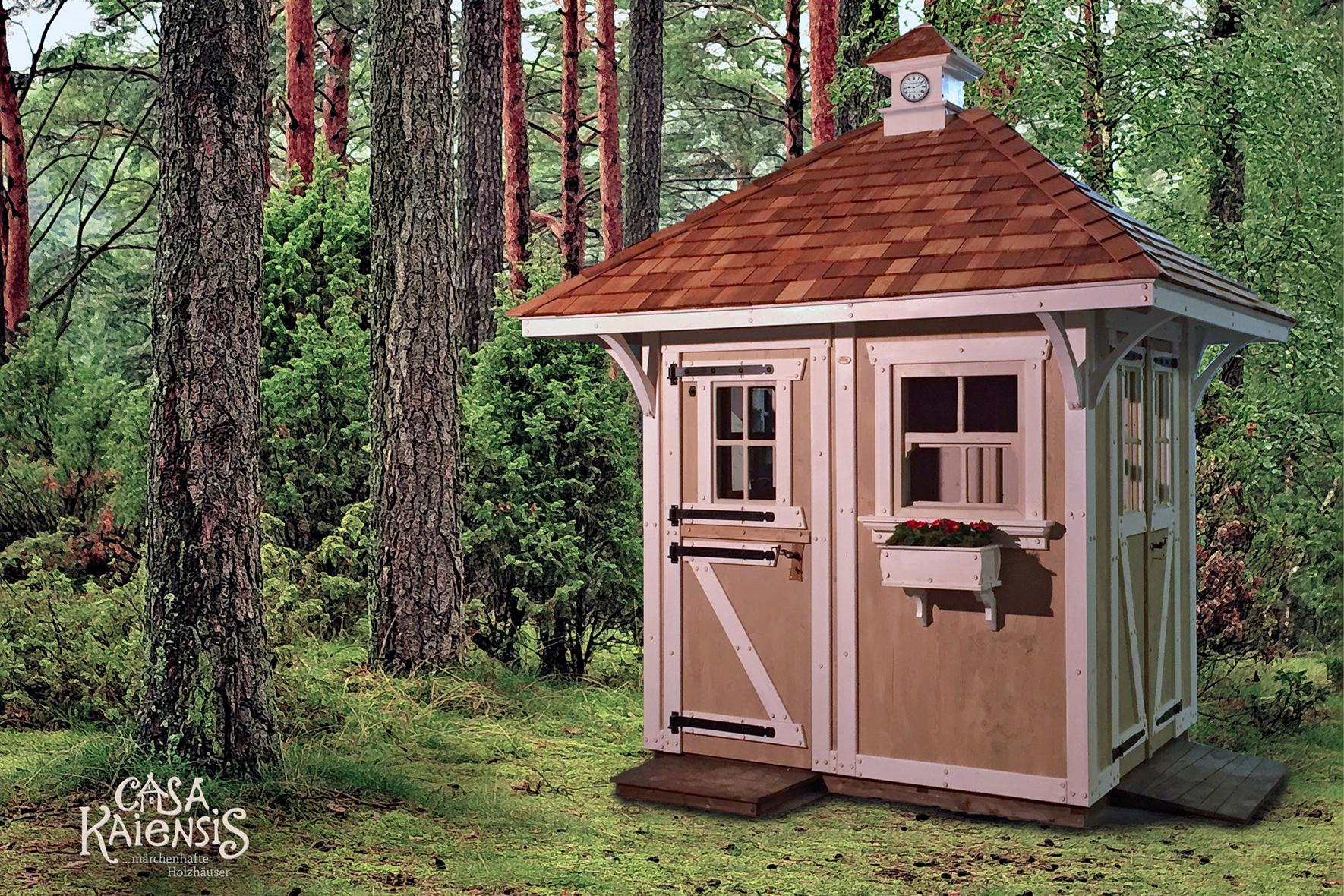 Gut gemocht Casa Kaiensismärchenhafte Holzhäuser LG43